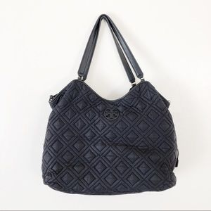 Tory Burch Quilted Nylon Marion Diaper Bag